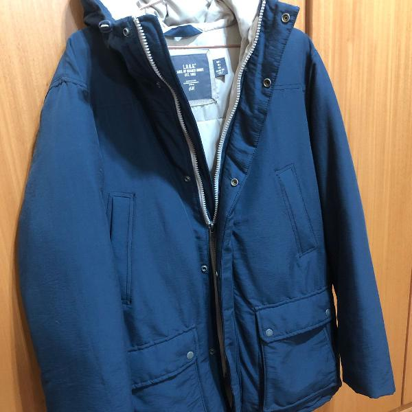 Casaco jaqueta frio/neve h&m - tamanho g