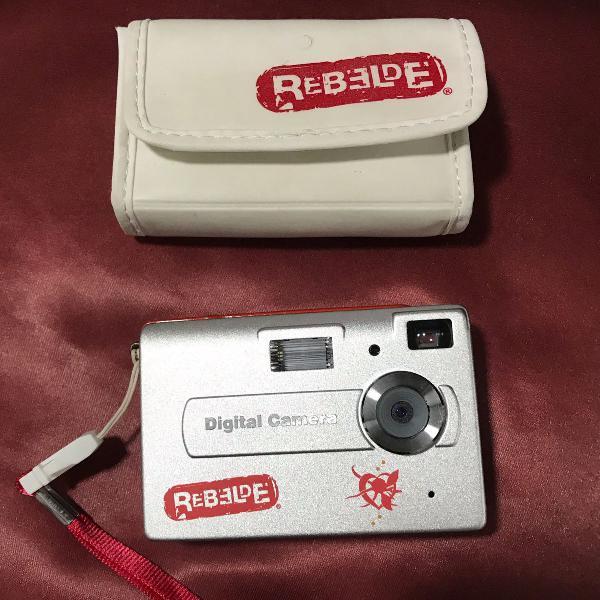 Câmera digital rebelde