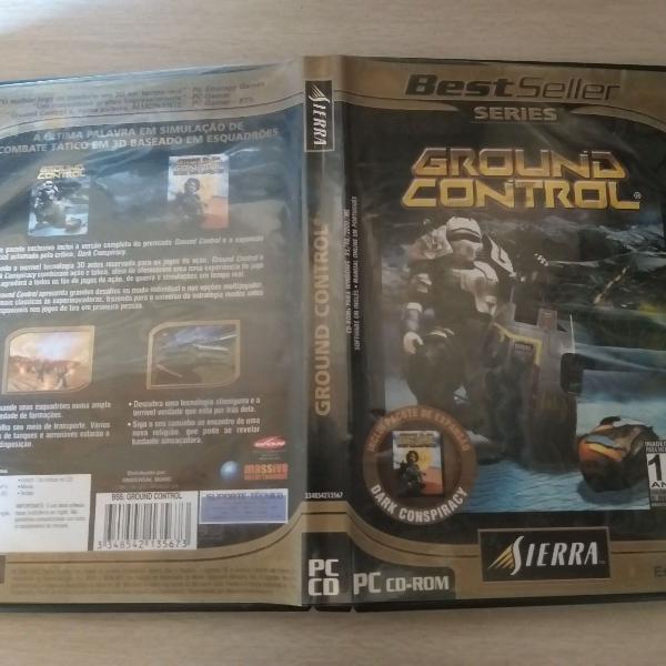 Ground control pc cd-rom sierra duplo