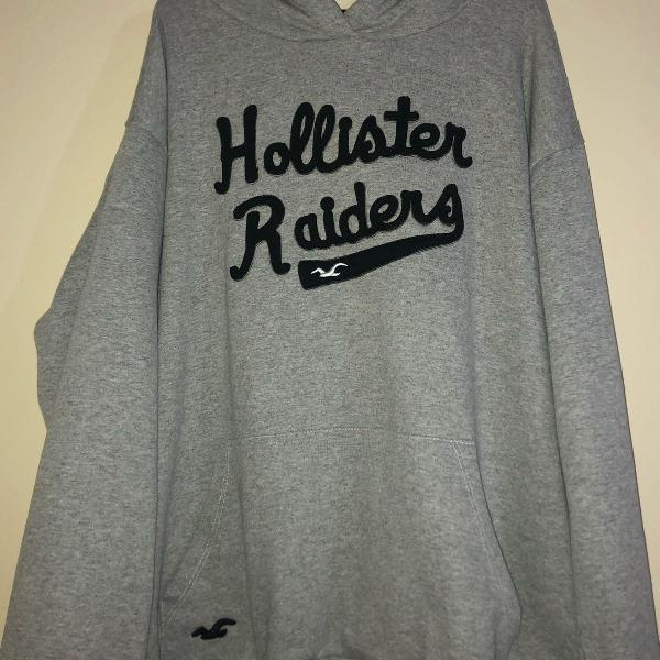 Moletom hollister bordado