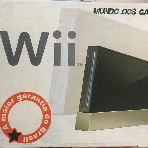 Nintendo wii novo na caixa nunca usado original comprado no