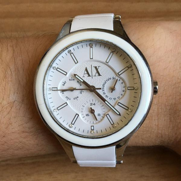 Relógio feminino armani exchange.