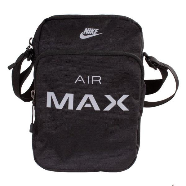 Shoulder bag bolsa nike air max pochete preto cinza original