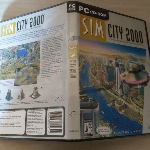 Sim city 2000 pc cdrom antigo