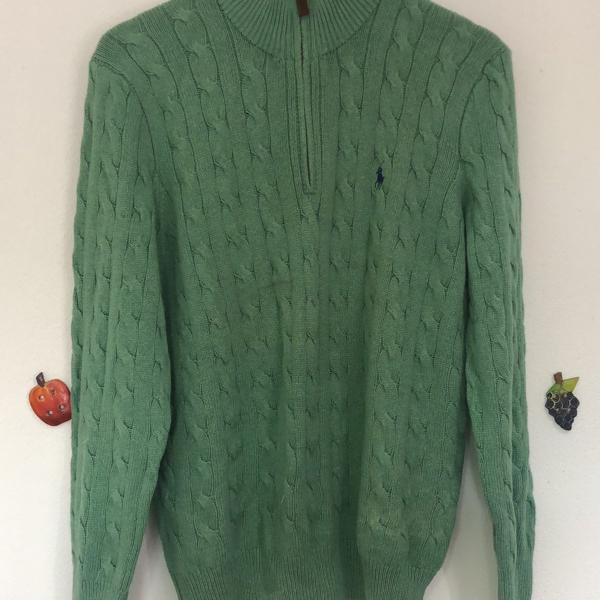 Sweater masculino polo ralph lauren m