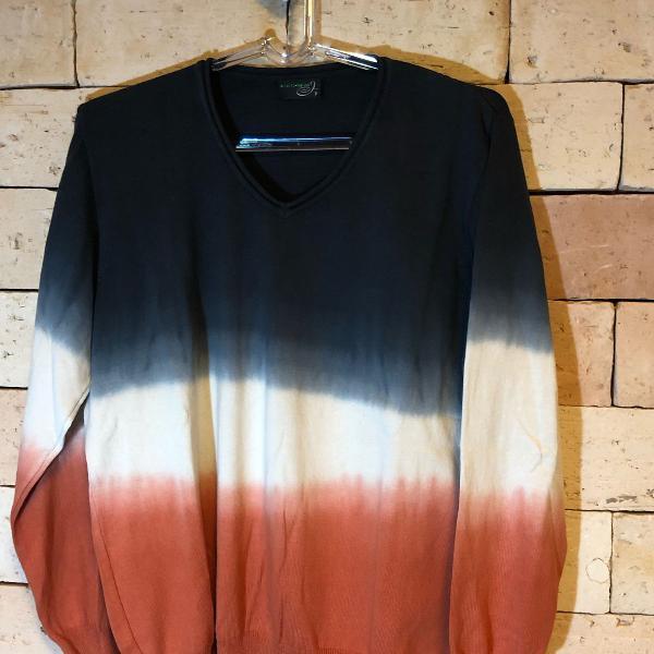 Tricot colorido tie dye