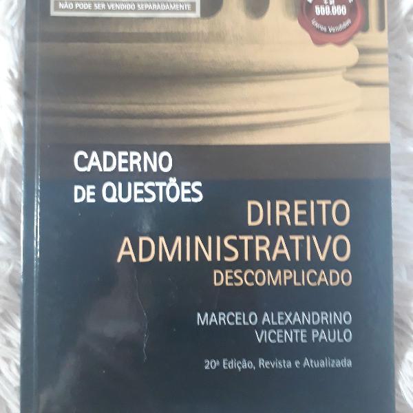 BAIXAR ADMINISTRATIVO MARCELO LIVRO DESCOMPLICADO 2012 DIREITO ALEXANDRINO