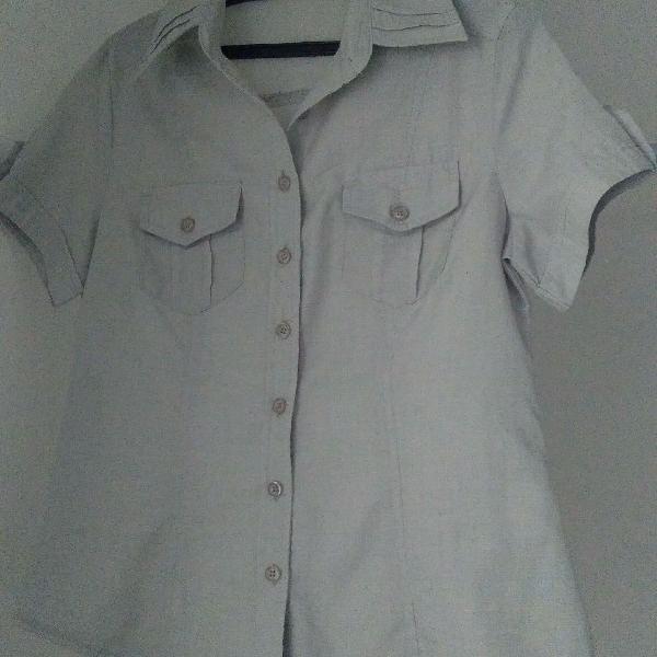 Camisa cinza p
