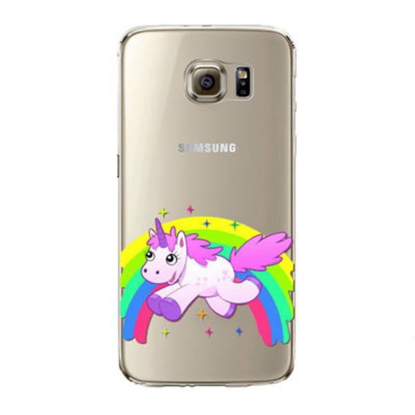 Capa de celular unicórnio galaxy s6/s6 edge