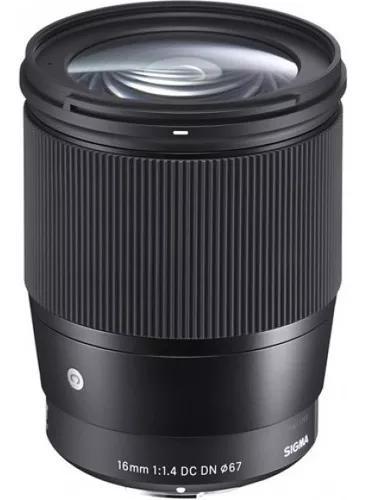 Lente sigma 16mm f/1.4 sony