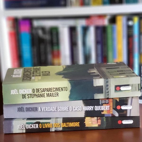 Livros de joël dicker (stephanie mailer, baltimore, harry