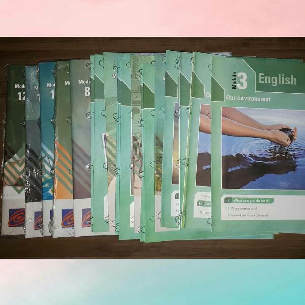 Módulos de inglês ftd
