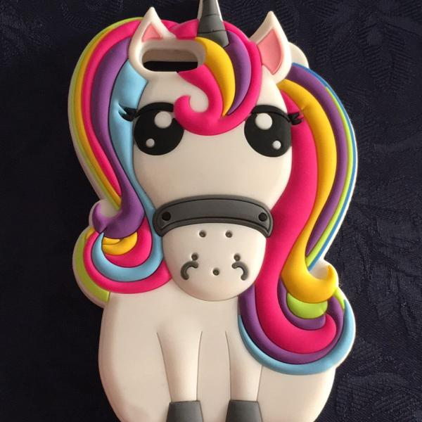 Capinha unicornio iphone 5/5s