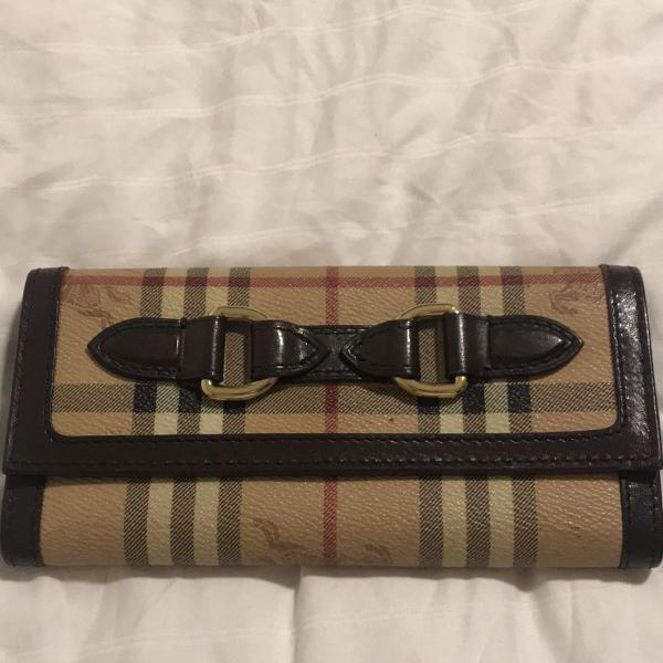 Carteira burberry original