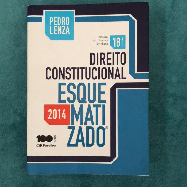 Direito constitucional esquematizado 2014