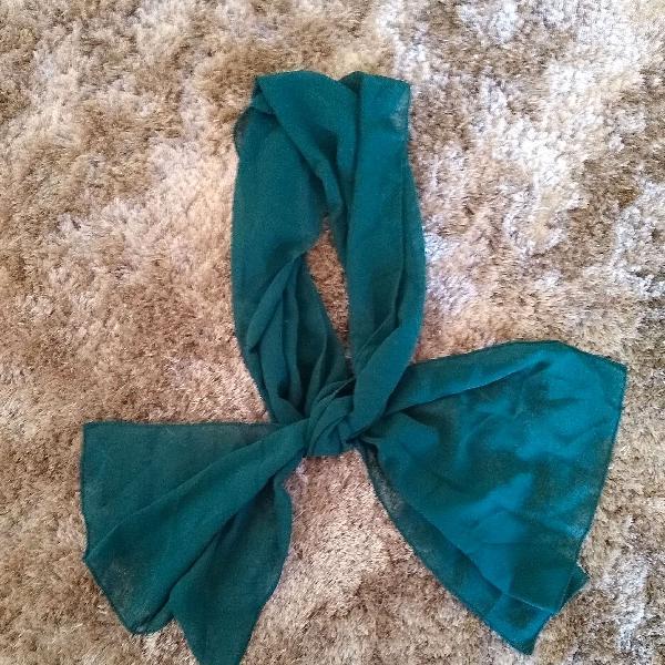 Echarpe verde
