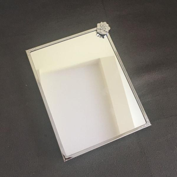 Espelho de mesa swarovski