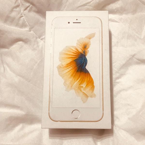 Iphone 6s novo! na caixa! com fone e carregador originais
