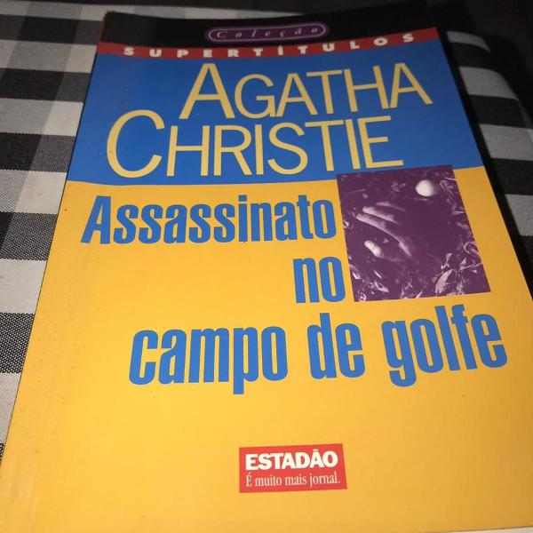 Livro assassinato no campo de golfe de agatha christie -