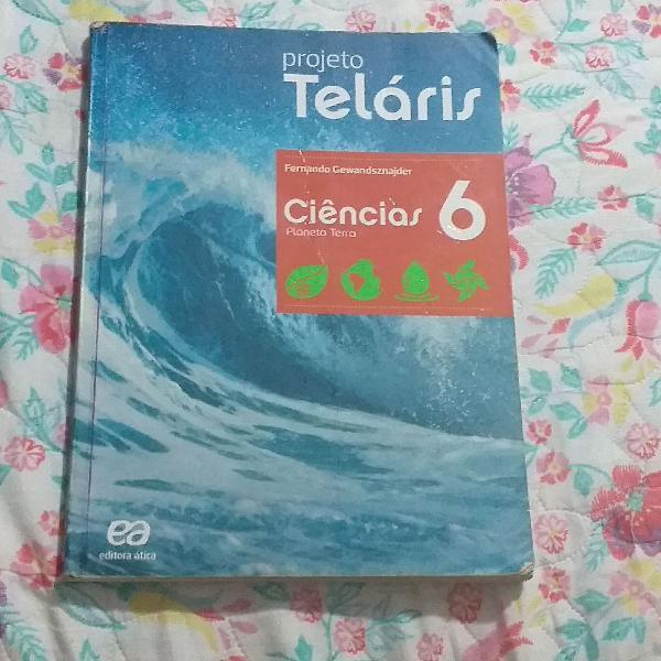 Livro de ciências 6ano projeto teláris