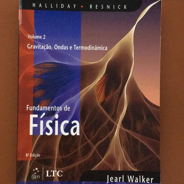 Livro fundamentos de física - volume 2 - gravitação,
