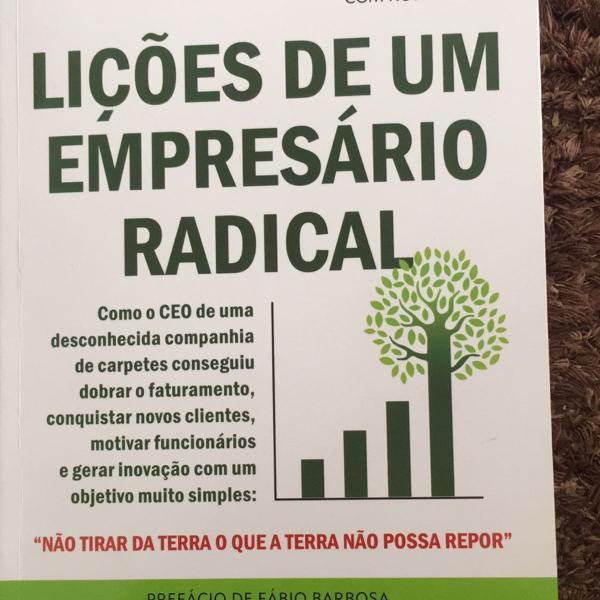Livro lições de um empresário radical