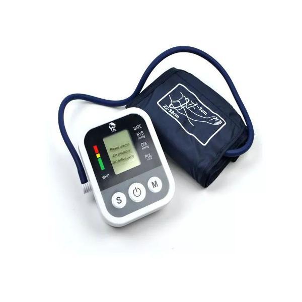 Medidor pressão digital esfigmomanômetro elétrico no