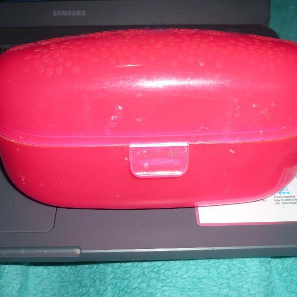 Porta treco coza pink tok & stok usado poucas vezes