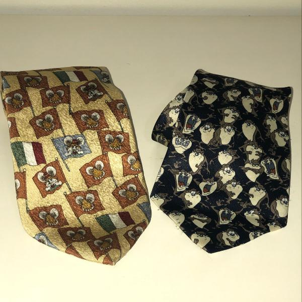 Vintage retro gravatas