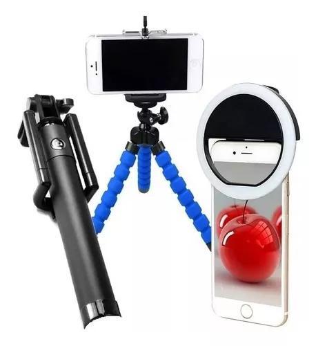 Bastão monopod pau de selfie