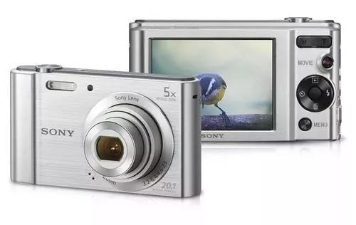 Camera sony w 800 cyber shot 20.1mp tela lcd