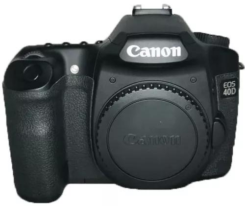Câmera canon 40d s