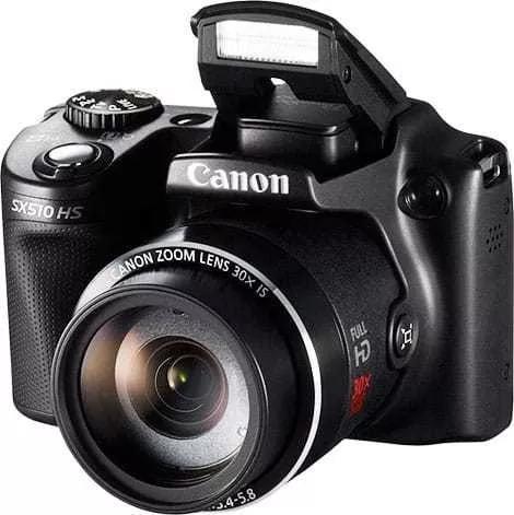 Câmera canon sx510 sh - muito bom para you tubers