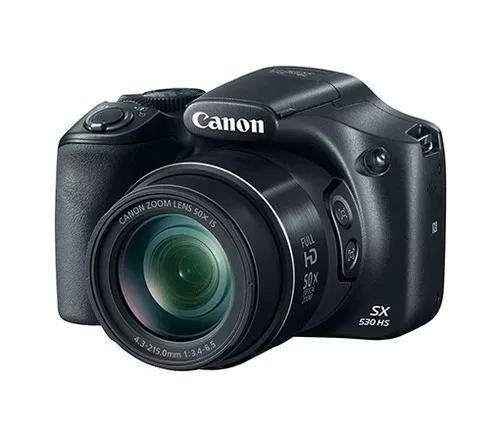 Câmera digital canon powershot sx530 hs 16 mp lcd com nf-e