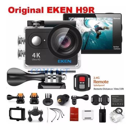 Câmera eken h9r 4k c/ case prova dágua frete grátis