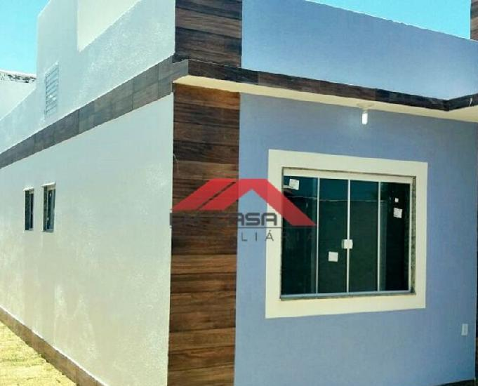 Excelente casa de 2 quartos na praia - pronta! - unamarc. f