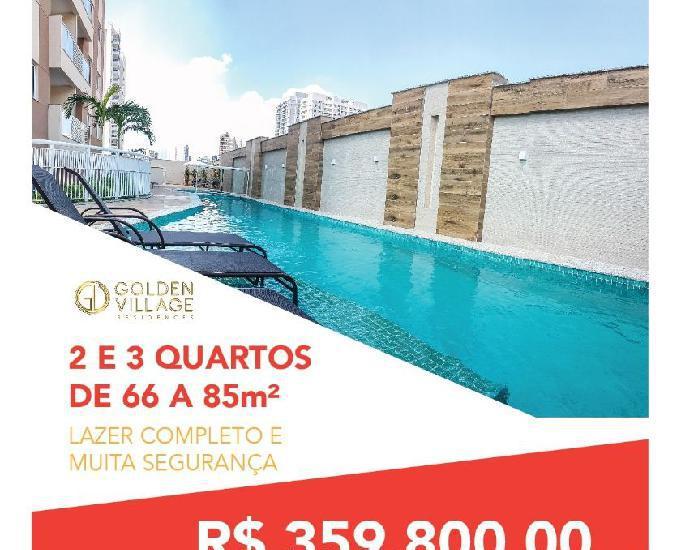 Golden Village, 2 quartos Suíte 66m² Nova Iguaçu