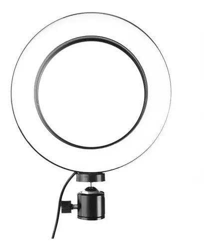 Iluminador led ring light maquiag