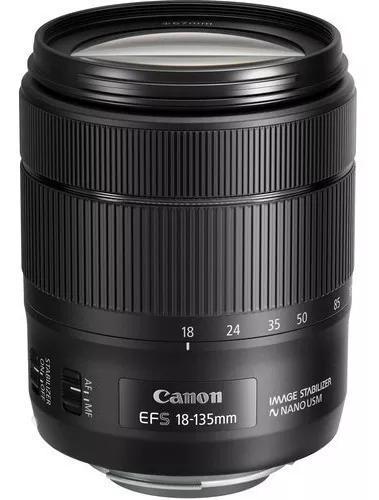 Lente canon ef-s 18-135mm f/3.5-5.6 is usm garantia s