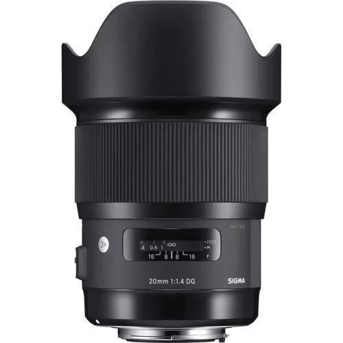 Lente sigma 35mm f/1.4 dg hsm série art autofoco canon nfe