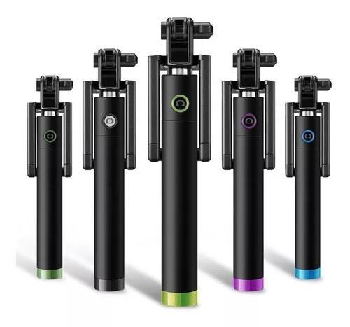 Monopod disparador bastão selfie cabo usb universal zpg-3