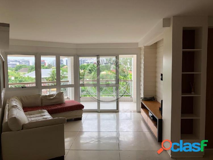 Apartamento 129m², 3 quartos, condomínio bourbon – barra da tijuca