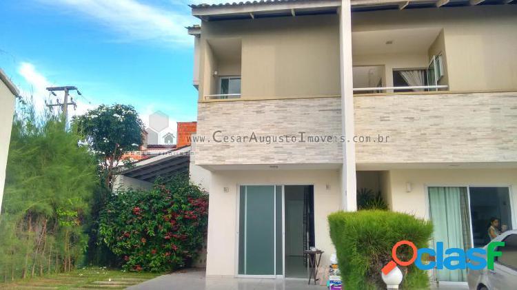 Residencial andaluzia - casa em condomínio em fortaleza - lagoa redonda por 410.000,00 à venda
