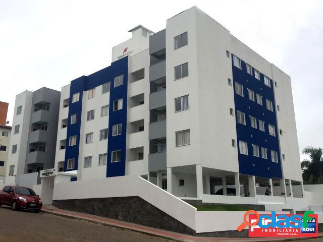 Apartamento 02 dormitórios, residencial belo horizonte ii, venda direta caixa, bairro serraria, são josé, sc, assessoria gratuita na pinho