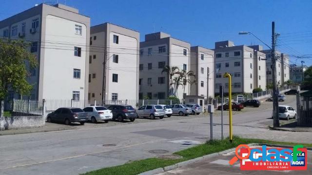 Apartamento de 03 dormitórios, conjunto habitacional bela vista iv, venda direta caixa, bairro bela vista, são josé, sc, assessoria gratuita na pinho