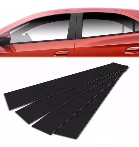 Adesivo blackout para coluna de portas carro universal
