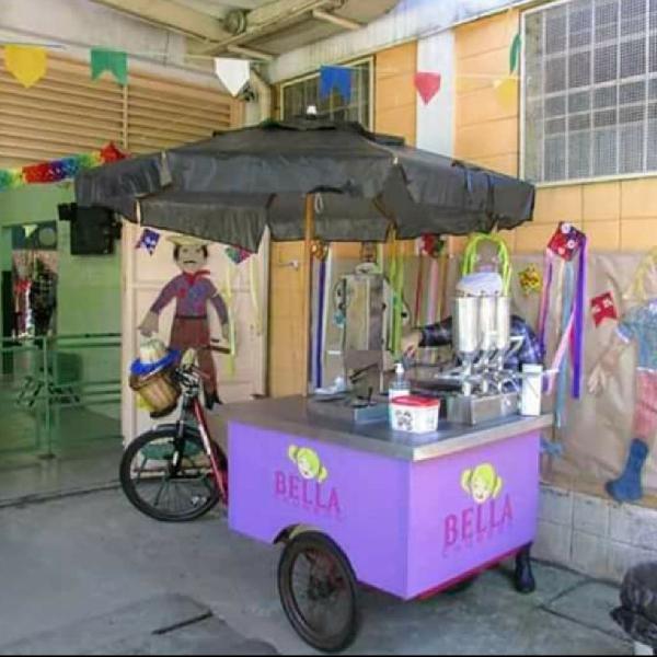 Bike food - food trike - churros