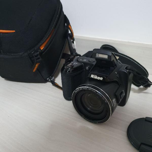 Camera nikon coolpix l810 semi profissional