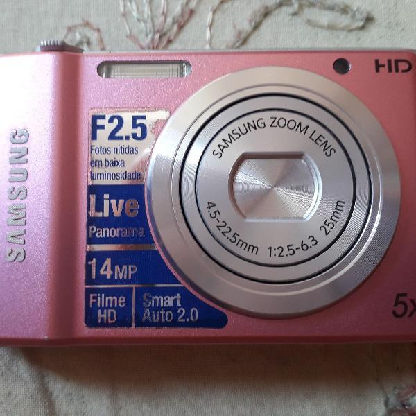 Câmera samsung zoom lens 5x