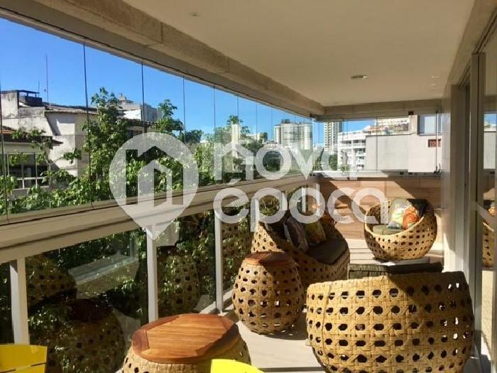 Gávea, 3 quartos, 2 vagas, 138 m² rua artur araripe,